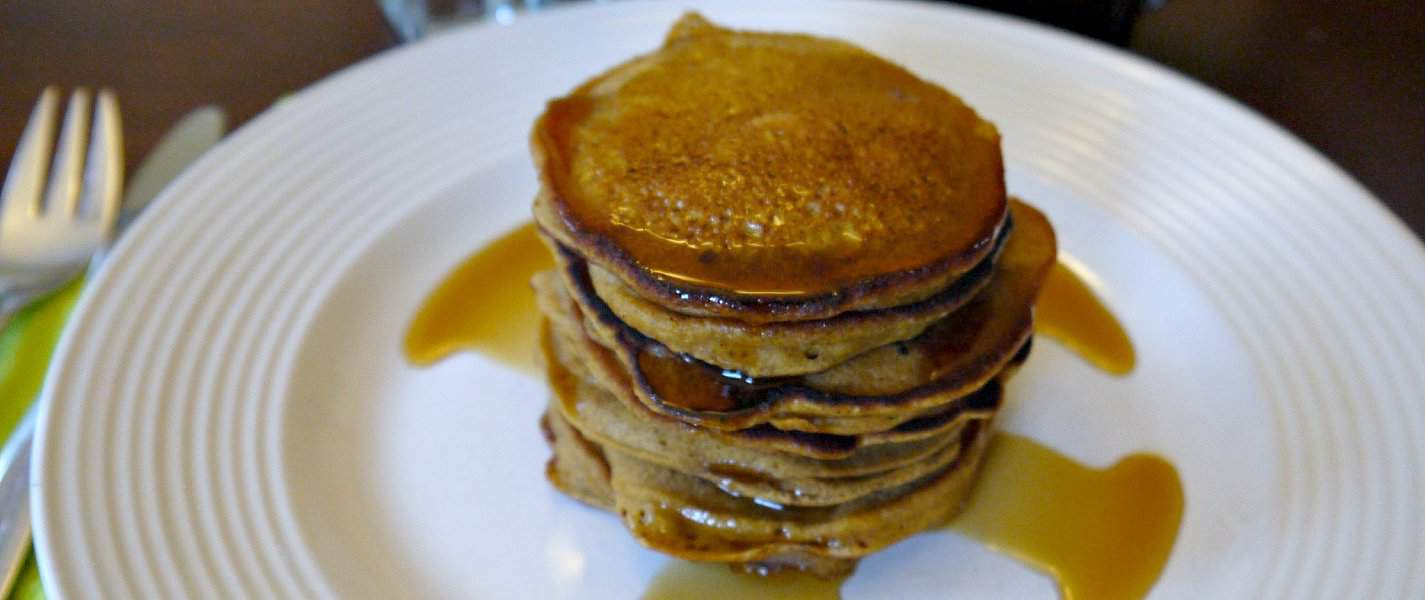 Recipe: whole wheat pumpkin pancakes - Tyrant Farms
