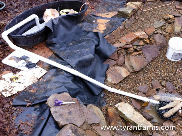 How to build a backyard pond with a DIY biofilter Tyrant