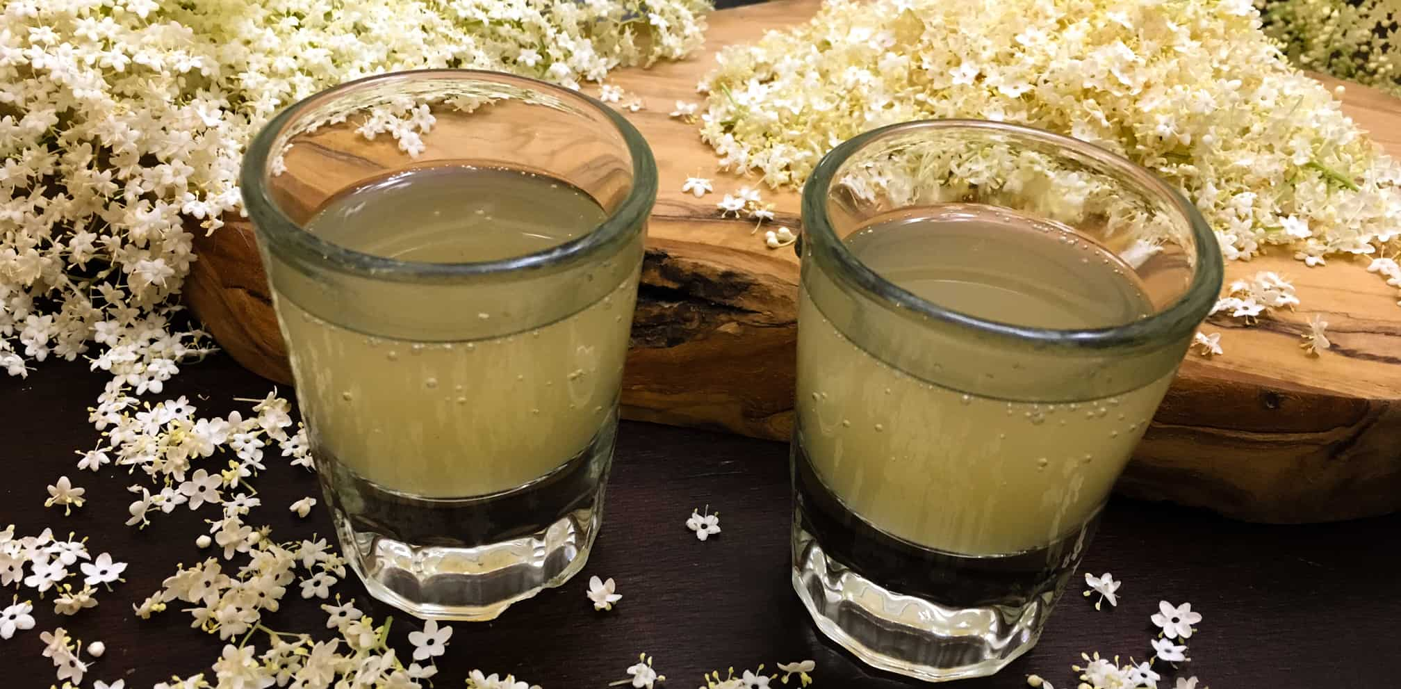 sparkling elderflower syrup - www.TyrantFarms.com