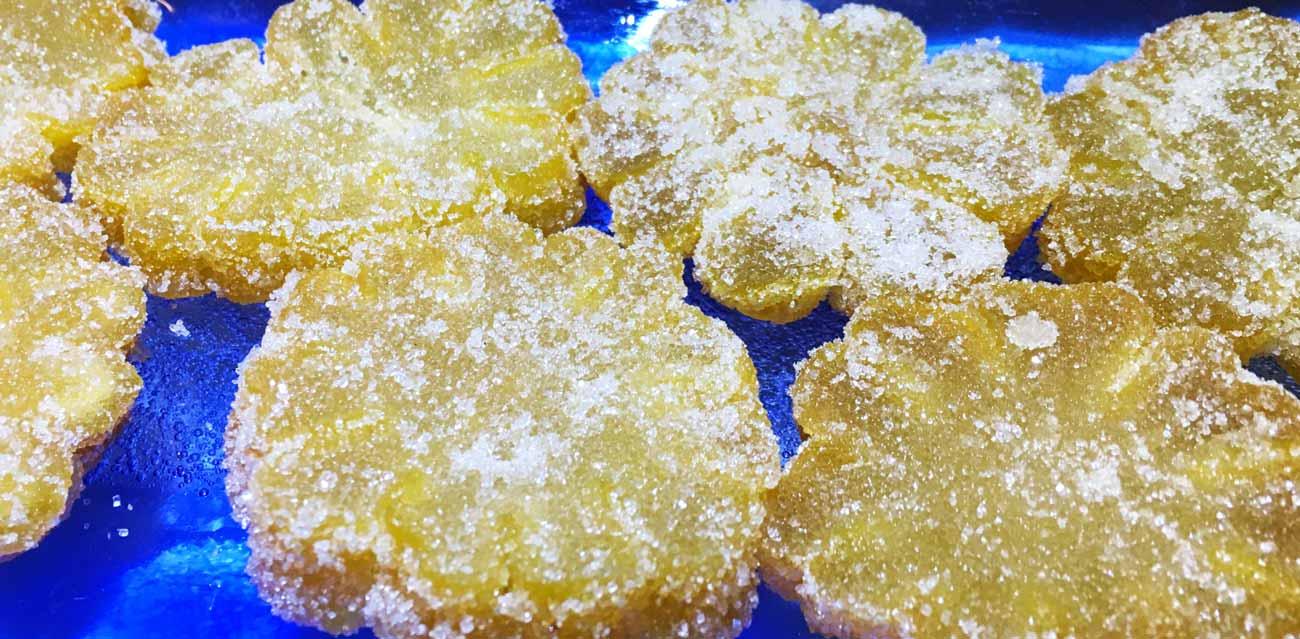 buddah hand citron candy