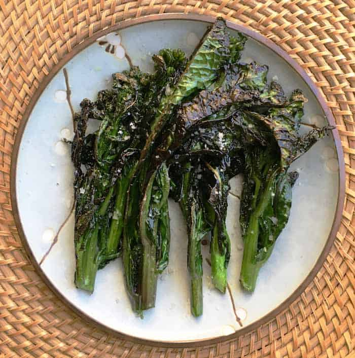 kale floret stir fry recipe