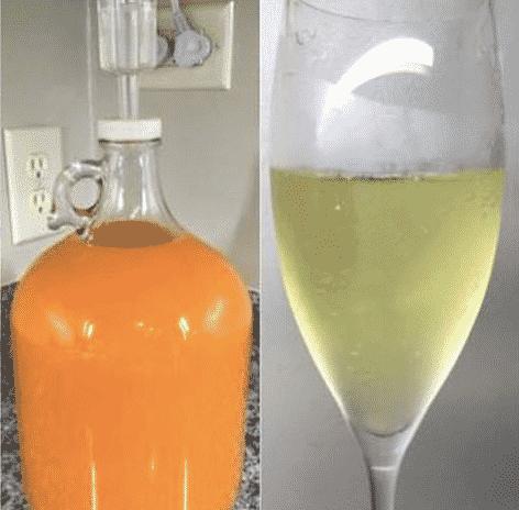 pumpkin champagne