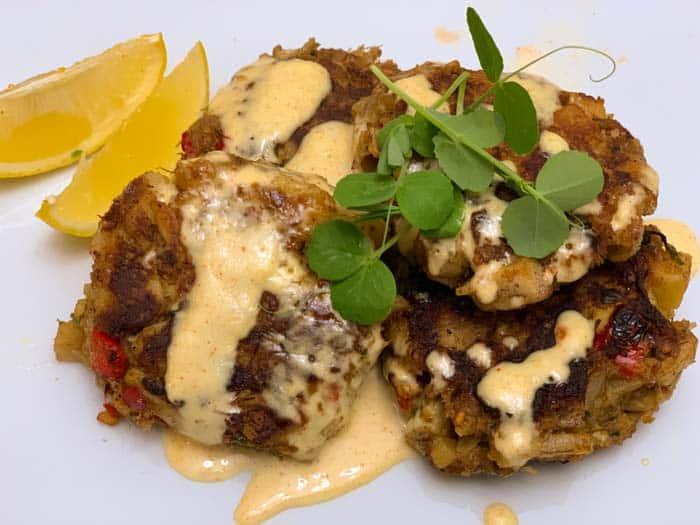 Lion's mane mushroom crabcake recipe
